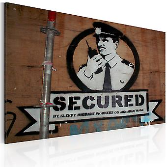 Tavla - Secured (Banksy)