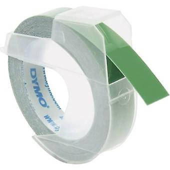 DYMO S0898160 Labelling tape Tape colour: Green Font colour: White 9 mm 3 m