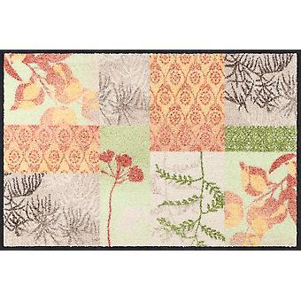 Salon lion paillasson se sentent bon saleté lavables tapis floral