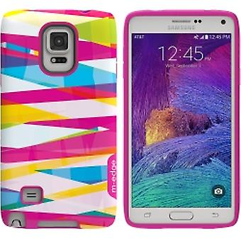 M-Edge - Echo Case for Samsung Galaxy Note 4 - Bandage Stripes
