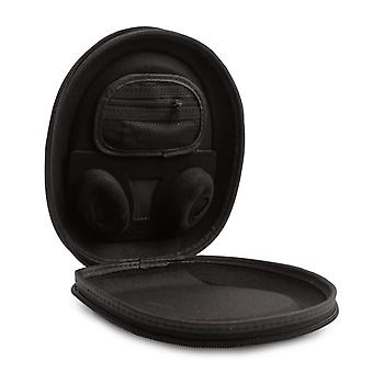 ReyTID Remplacement Carry Case Compatible avec Bose QuietComfort 35 / Casques QC35 w/ Support de câble intégré - BLACK - Travel EVA Bag Pouch Protective Portable Cover Wireless