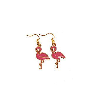 Smykker og kroner øreringe Flamingo