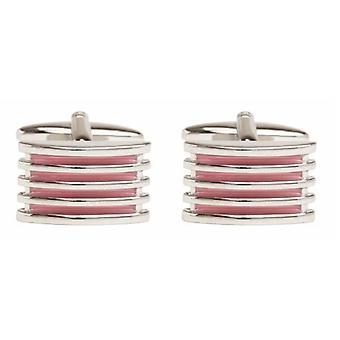 David Van Hagen Grill Cufflinks - Pink