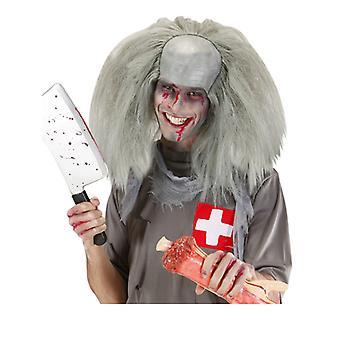 Zombie homme bandeau - gris