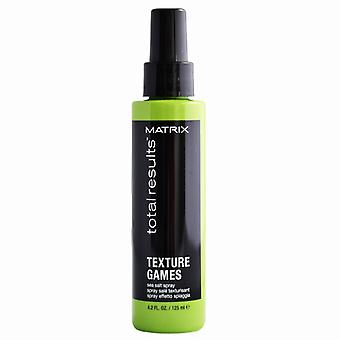 Matrix Total Results Texture Games Sea Salt Spray 125ml