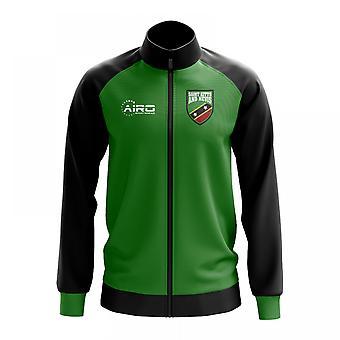 Saint Kitts ja Nevis käsite jalkapallo Track Jacket (vihreä)