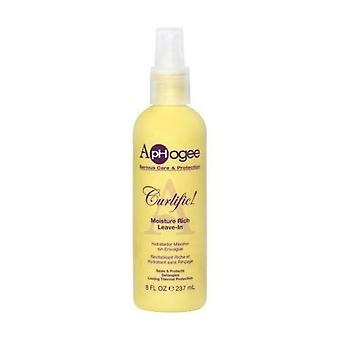 ApHogee umidità Curlific Rich Leave-In 237ml