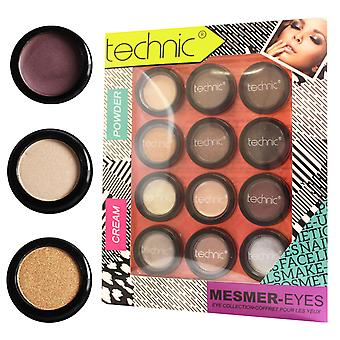Technic Mesmer-Eyes Eyeshadow Gift Set