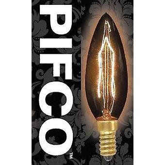 PIFCO Vintage kaars GLS Globe eekhoorn kooi B22 E27 E14 gloeilampen