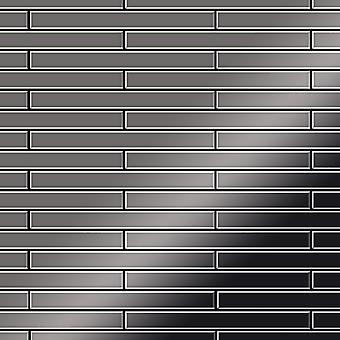 Metal mosaic Titanium ALLOY Avenue-Ti-SM