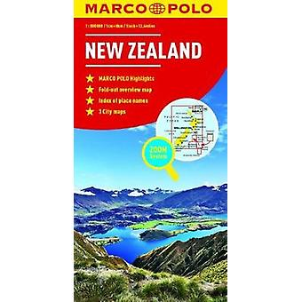 New Zealand Marco Polo Map by New Zealand Marco Polo Map - 9783829769