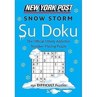 New York Post Snow Storm Su Doku: 150 Puzzles difficiles