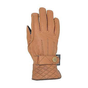 Hy5 aikuiset Thinsulate tikatut pehmeä nahka talvi Ratsastus hanskat