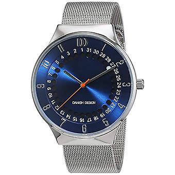 デンマーク デザイン メンズ ステンレス製アナログクォーツ腕時計 3314497