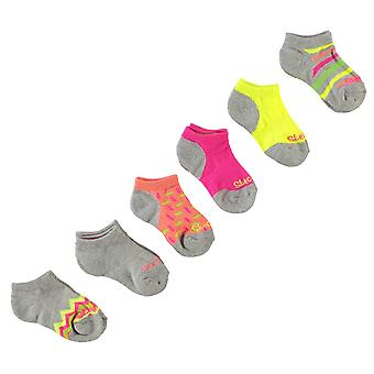 Skechers Kids 6 Pack Socks Girls