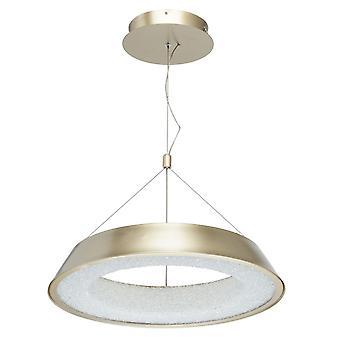 Glasberg - il piccolo regolabile a sospensione a LED In Matt oro e bianco 703010801