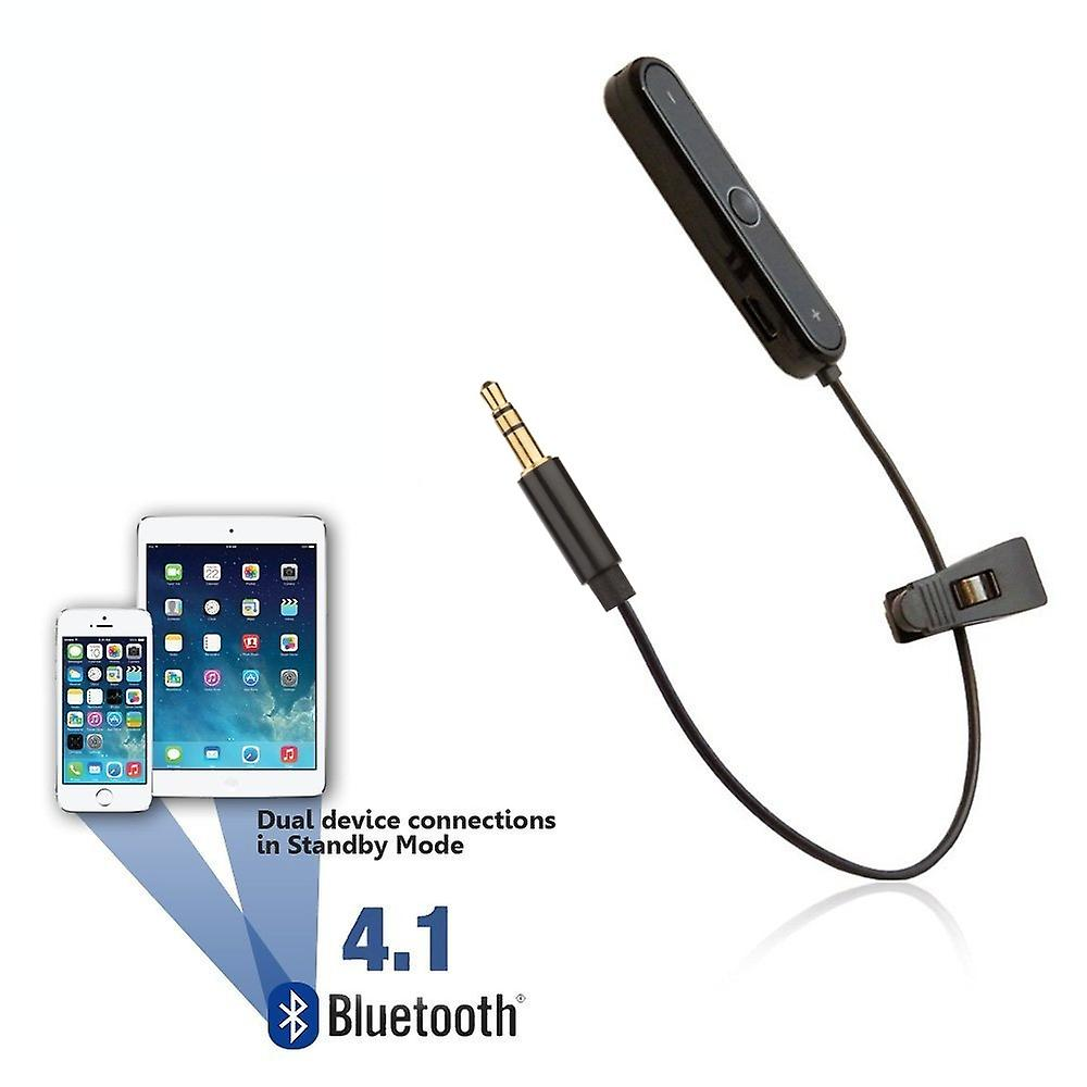 REYTID Bluetooth Adapter Compatible with Beats Solo, Solo2, Studio, Studio 2.0, MIXr & Pro Detox Headphones - Wireless Converter Receiver Compatible with Apple Earphones On-Ear Over-Ear