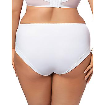 Lilly dentelle blanche culotte Panty Brief complet Gorsenia K469 féminin