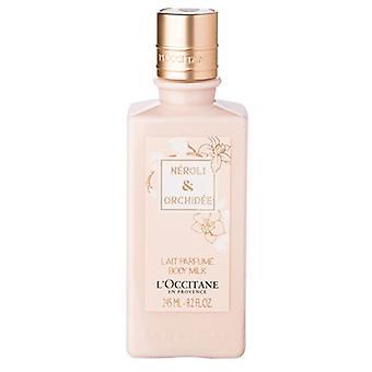 زهر البرتقال L'Occitane & الجسم Orchidee الحليب 8.2 أوقية/245 مل