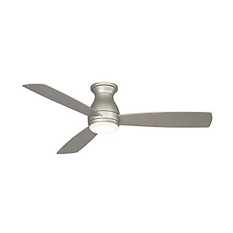 """Outdoor ceiling fan HUGH WET 132cm / 52"""" Nickel with LED"""