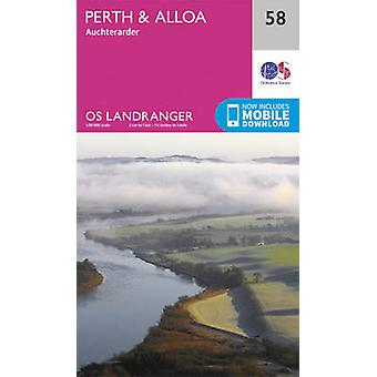 Perth & Alloa - Auchterarder (February 2016 ed) by Ordnance Survey -