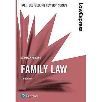 Law Express - Family Law by Law Express - Family Law - 9781292210209 Bo