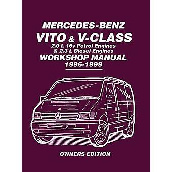 Mercedes-Benz Vito & V-Class Workshop Manual 1996-1999 - Covers - 2.0L