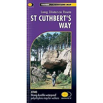 St Cuthbert's Way (XT40 edition) by Harvey Map Services Ltd. - 978185