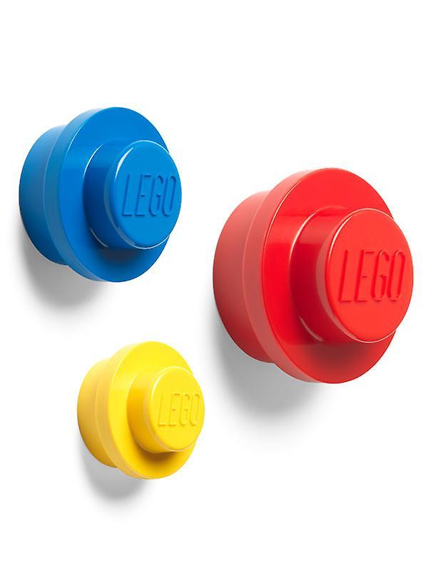 Lego 3 Piece Wall Hanger Set