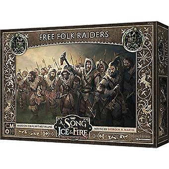 A Song of Ice and Fire Miniatures Jeu Free Folk Raiders Expansion Pack