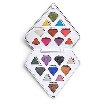 Makeup revolution i hjerte revolution diamant lyse Øjeshadow palet