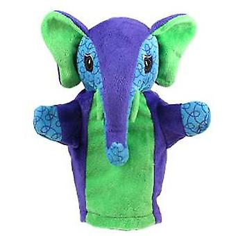 Hand Puppet - My Second - Elephant Soft Doll Plush PC009607