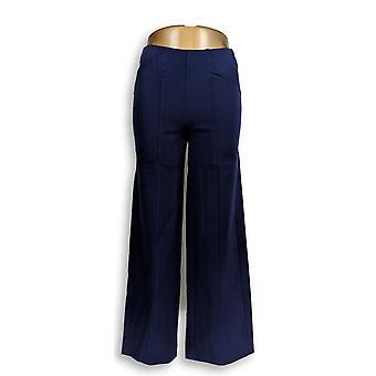 Isaac Mizrahi Live! Donne's Petite Pantaloni 24/7 Allunga Pull-On Blu A286104