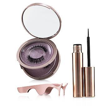 Shibella Cosmetics Magnetic Eyeliner & Eyelash Kit - # Charm - 3pcs