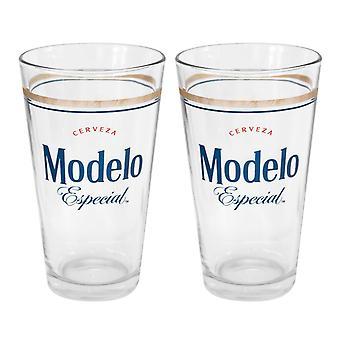 Modelo Especial 2 Pack Pint Glasses