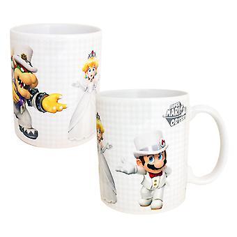 Super Mario Odyssey Who Will Peach Choose Coffee Mug