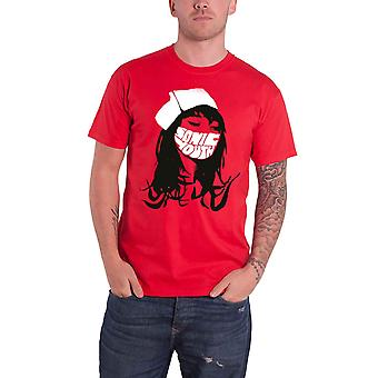 Sonic Youth T Shirt Sonic Nurse Band Logo new Official Mens Red
