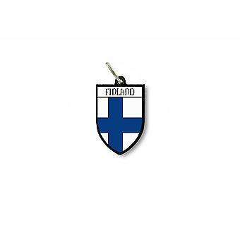 Sleutel sleutel deur cle Flag collectie stad wapen Finse Finland