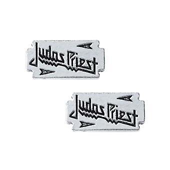 Alchemy Rocks Judas Priest Razorblade logo stud örhängen