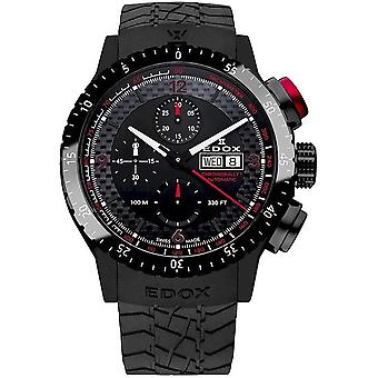 Edox Men's Watch 01118 37NR NRO Automatic, Chronograph, Diver's Watch