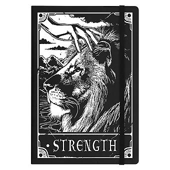 Deadly Tarot Strength A5 Hard Cover Notebook