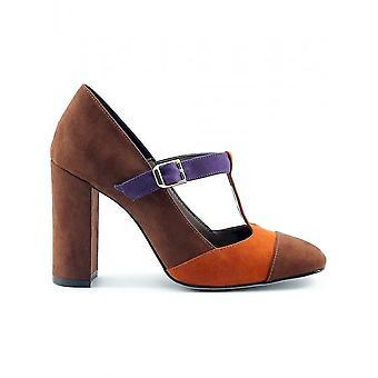 Made in Italia - Schuhe - High Heels - GIORGIA_CUOIO-ZUCCA - Damen - saddlebrown,chocolate - 36