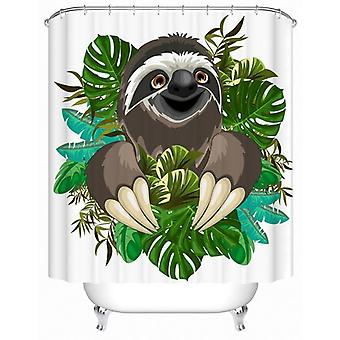 Happy Sloth Shower Curtain