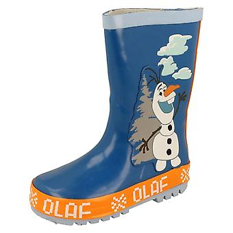 Kids Disney Olaf Wellies Frozen Olaf Tree