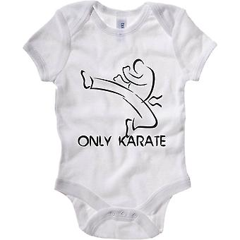 Body neonato bianco wtc1430 only karate