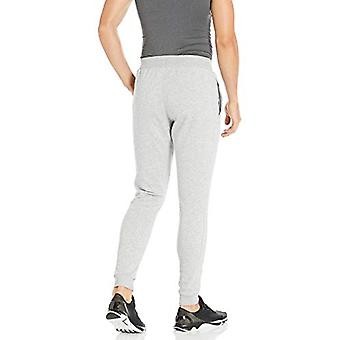 Under Armour Men's Rival Fleece Jogger, Steel Light Heather, Grey, Size Large