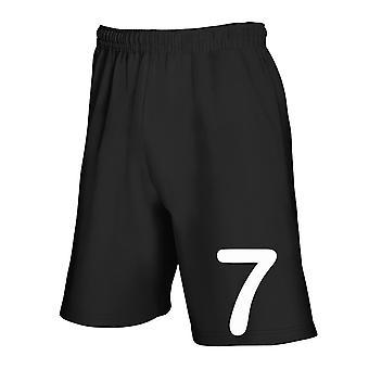 Pantaloncini tuta nero tsr1002 sette 7