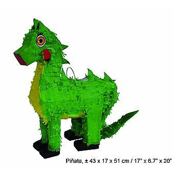 Dino Dinoparty Dinosauro Pinata per riempire Compleanno Festa Bambini 50 x 50 x 10 cm