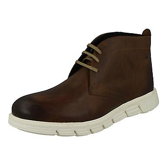 Mens base London casual Ankel Boots Snowdon
