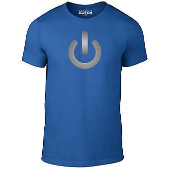 T-shirt de signe de puissance de Men-apos;s